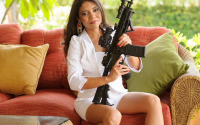 How to hold your AR-15 with Gabby Franco